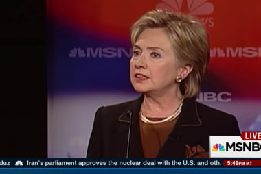 A look back at Hillary's debating experience