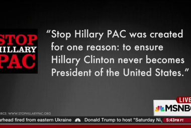 An odious attack ad against Hillary Clinton
