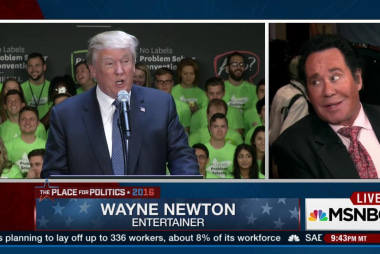 Wayne Newton talks Trump, Democratic debate