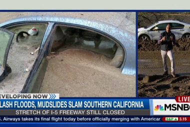 Calif. storm causes devastating mudslides
