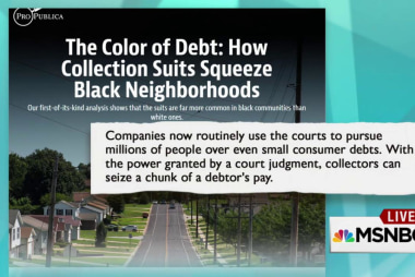 Lawsuits squeeze black communities: Report
