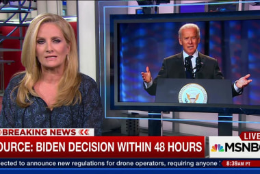 Sources: Joe Biden could decide on 2016...