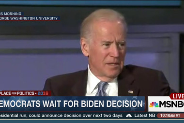 Democrats await Biden's announcement