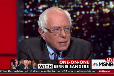 Sanders: We must break with Obama/Biden
