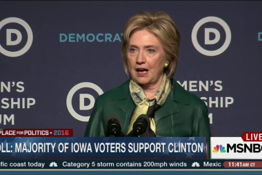 Clinton and Carson lead in Iowa polls