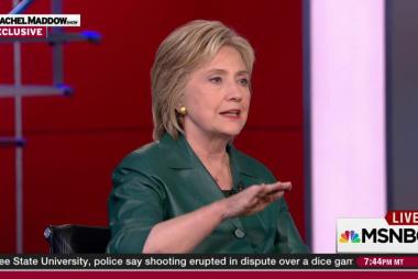 Clinton frustrated by slow progress on VA