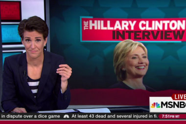 Clinton on making friends in the public eye