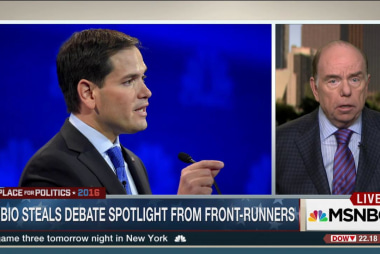 Marco Rubio shines in debate spotlight
