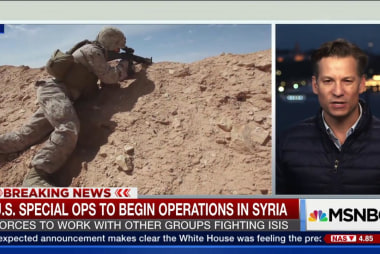 U.S. Special forces to begin operations in...
