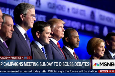 GOP campaigns to meet