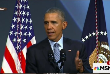 Obama pushes back on the 'Ferguson effect'