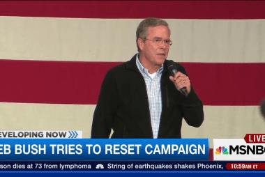 The Jeb Bush reboot
