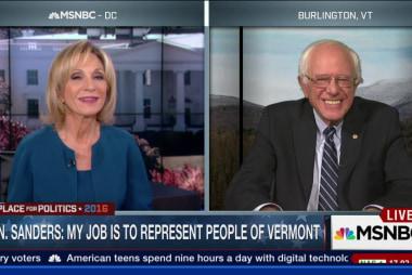 Sanders: 'We are still an underdog'