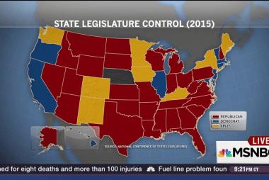 GOP's Matt Bevin wins Kentucky back from Dems