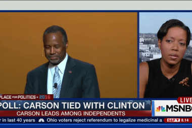 New poll: Ben Carson tied with Hillary...
