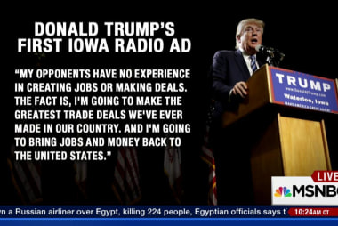 Donald Trump runs first radio ads
