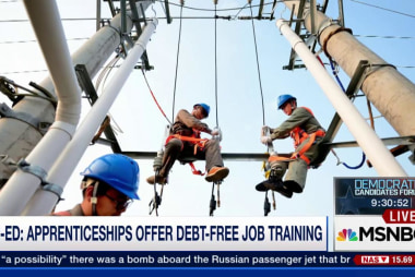 Apprenticeships offer debt-free job training
