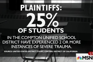 Compton students file suit for 'complex...