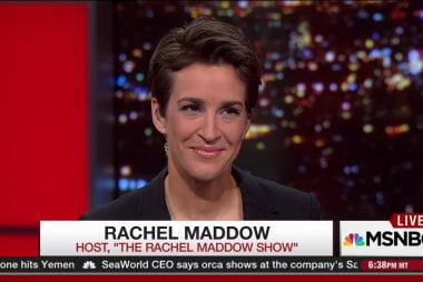 Rachel Maddow on the Democratic Forum