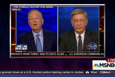 Bill O'Reilly v. George Will