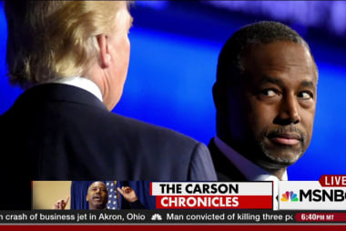 The strangeness of  Ben Carson's campaign