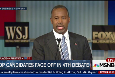 Ben Carson: 'I have no problem being vetted'