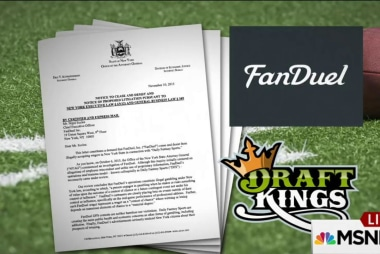 Game over for two fantasy sports companies?
