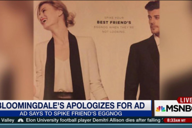Bloomingdale's apologizes for ad