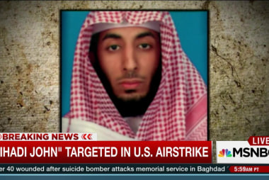 'Jihadi John' targeted in U.S. airstrike
