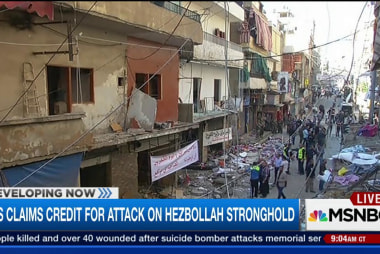 ISIS claims credit for bombing on Hezbollah