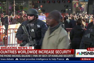 The US steps up security after Paris attacks