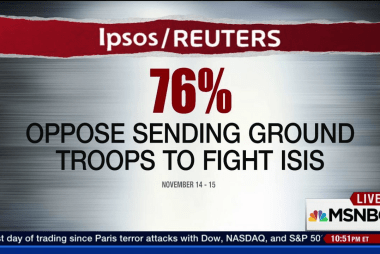 The political will to defeat ISIS