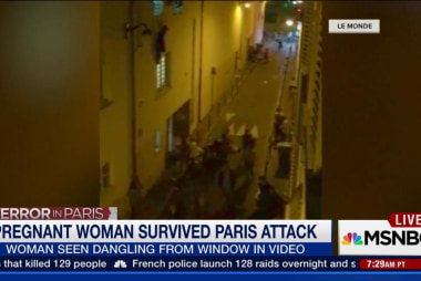 Pregnant woman rescued in Paris attacks