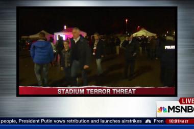 German stadium evacuated after threat