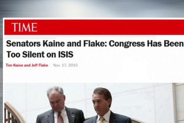 Lawmakers briefed on ISIS terror threat