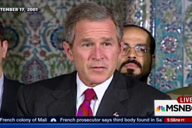G.W. Bush said 'Islam is peace' after 9/11