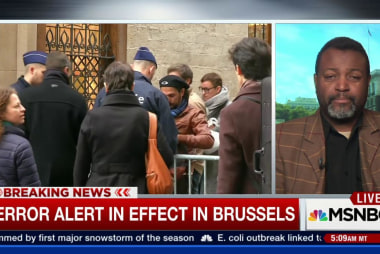 Terror alert in effect in Brussels