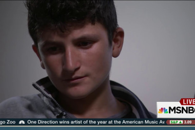 Young Yazidi boys recount ISIS horrors