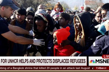 UNHCR on taking in displaced refugees