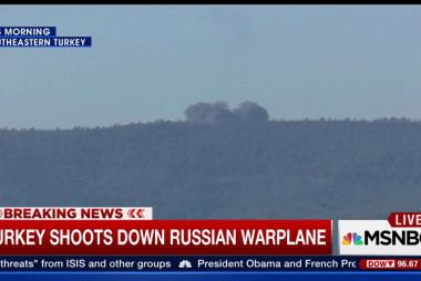Turkey shoots down Russian warplane