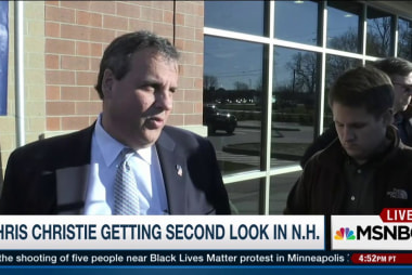 Is this Chris Christie's comeback?