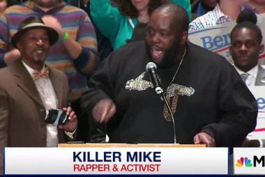 Rapper 'Killer Mike' endorses Bernie Sanders