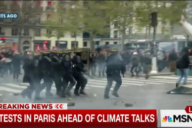 Protests in Paris ahead of climate talks