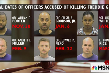 First of six officers to be tried in Gray...