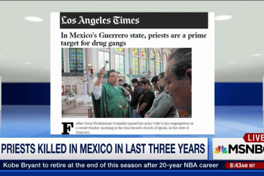 11 priests in Mexico killed in past 3 years