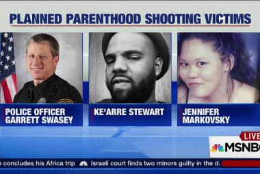 Planned Parenthood shooting suspect faces...