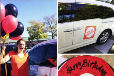 Charity celebrates foster kids' birthdays