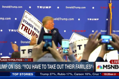 Trump on ISIS: 'You have to take out their...