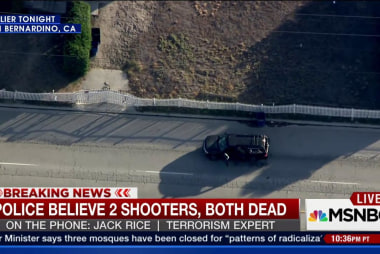 Bombs may give clue in San Bernardino attack