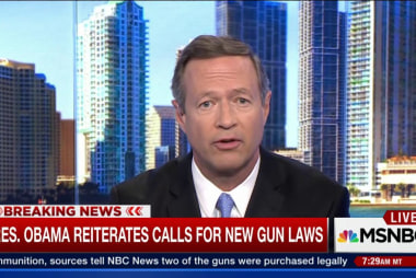 Martin O'Malley: Attacks are now 'everyday...